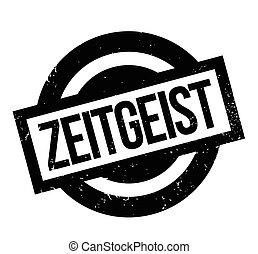 Zeitgeist rubber stamp. Grunge design with dust scratches....
