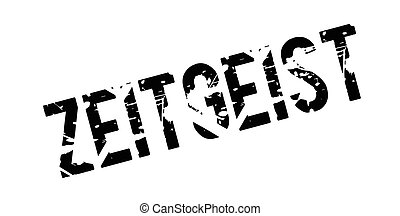 Zeitgeist rubber stamp. Grunge design with dust scratches....