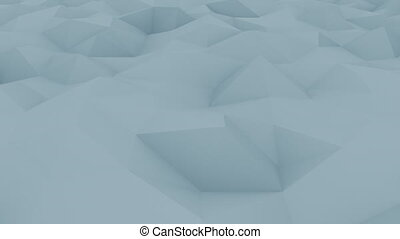 Abstract edge and vertex blue motion background for reports...