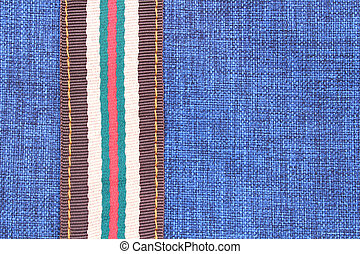 Blue cloth background