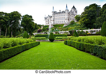 Dunrobin Castle in Sutherland, Scotland. Good for concepts...