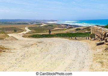 Farm, field and beach in Porto Covo, Alentejo, Portugal