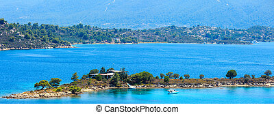 Sithonia coast, Chalkidiki, Greece. - Beautiful summer...