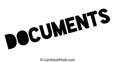 Documents rubber stamp