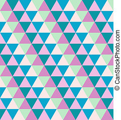 abstract pattern from color triangle