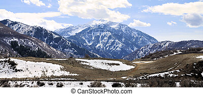 Wasatch Mountains - Views of the Wasatch Mountains of Utah