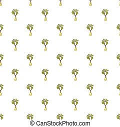 Seedling pattern seamless