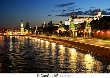 Russia, beautiful view of the Moscow