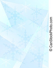 Blue Christmas / Winter Background