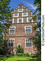 Drostenhof building in wolbeck quarter of Munster, Germany