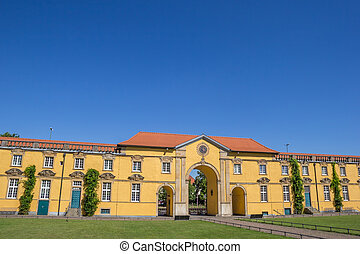 Inner courtyard of the University of Osnabruck in Germany