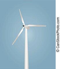 Wind turbine vetor