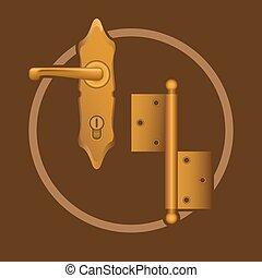 Golden door accessories