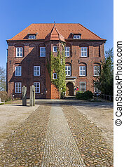 Baroque castle Agathenburg in Lower Saxony, Germany