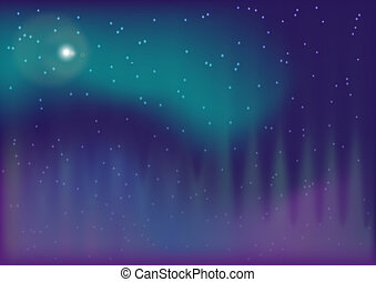 aurora boreal - Abstract Background - Aurora Boreal in...