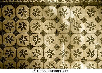 Mexican tile background - Vintage mexican tile background
