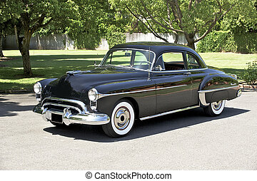 1950 Black Coupe