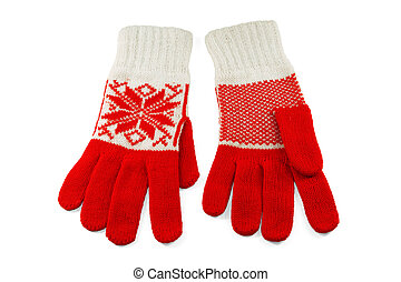Knit Womens gloves - Stylish and trendy, womens wool knit...