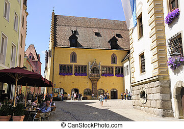 Regensburg, Germany - Old Town Hall. One of the World...