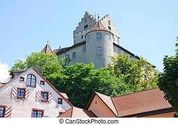 Meersburg, Germany - Old Castle of Meersburg in Baden...