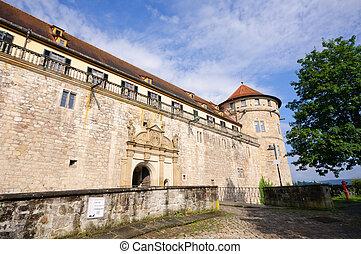 Tuebingen, Germany - Castle Hohentuebingen in Tuebingen,...