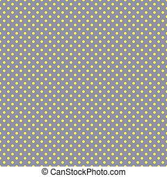 The polka dot pattern. Seamless vector illustration with...