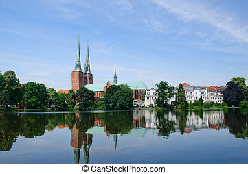 Luebeck, Germany - The Hanseatic city of Luebeck World...