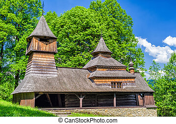 Wooden church in Lukov - Venecia, Slovakia - The Greek...