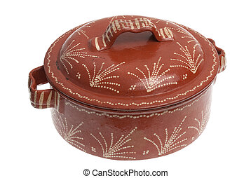 Clay pot for cooking