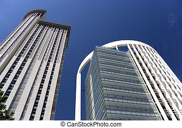Modern Office Buildings - Image of brand new office buidings...