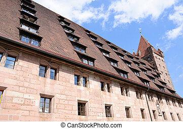Nuremberg, Germany - Kaiserburg(Imperial castle) in...