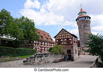 Nuremberg, Germany - KaiserburgImperial castle in Nuremberg,...