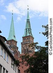 Nuremberg, Germany - St.Sebaldus Church in Nuremberg,...