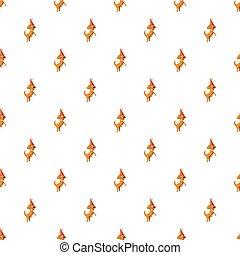Circus dog pattern