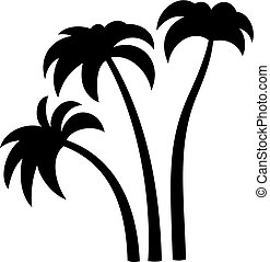 Palm trees, shade picture