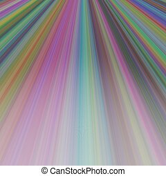 Ray light background design - vector graphic from lines in...