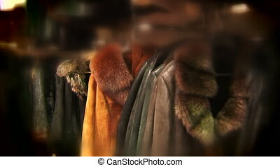 Fashionable fur on sale