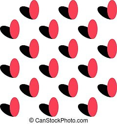 Seamless Abstract Ellipse Pattern - Abstract Ellipse...