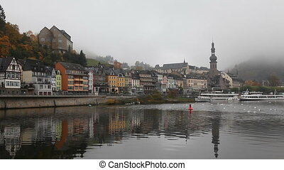 Cochem, Germany - The town Cochem in Germany in the morning...