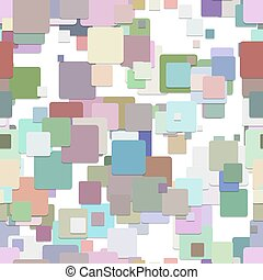 Seamless abstract square pattern background - vector graphic...