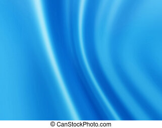 abstract blue background - soft folds abstract blue...