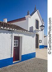 Church in Porto Covo village, Alentejo, Portugal