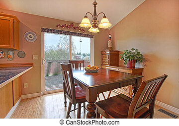 Dining room - Private residence in Graham, WA state. Canon...