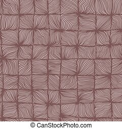 Seamless wave pattern - Seamless background with wave...