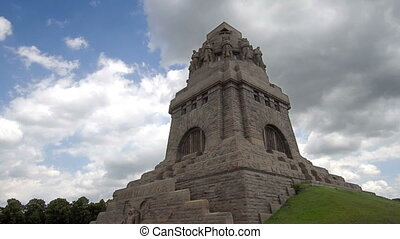 Battle of Nations Monument Timelapse - Timelapse of Monument...