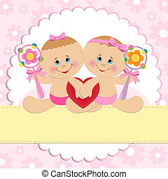 Template for baby's postcard - Template for baby's ostcard...