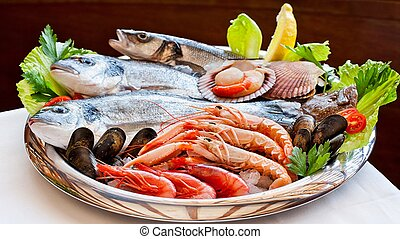 Fish and seafood to your table! Bon Appetit! - Fish and...