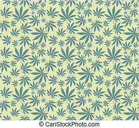 marijuana pattern - cannabis seamless pattern in vector...