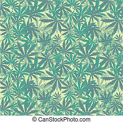 marijuana wallpaper - cannabis seamless pattern in vector...