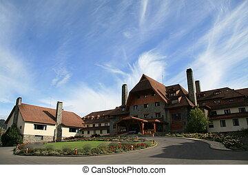 Bariloche - Famous swiss style hotel in Bariloche, Argentina